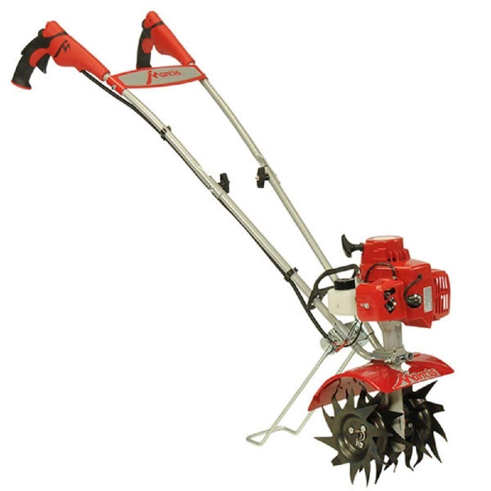 mantis is probably the best known name in garden tillers and for good reason they have a long pedigree and are known for their sturdiness and reliability - Best Garden Tiller