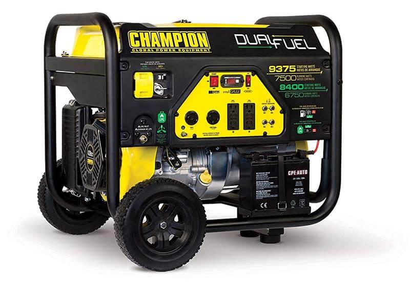 Champion 7500-Watt Generator - Best High Powered Propane Generator