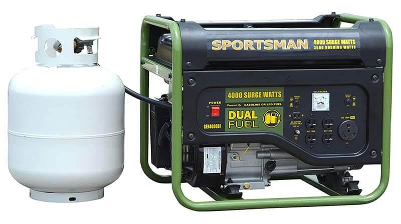 Sportsman GEN4000DF - Best Cheap Propane Generator